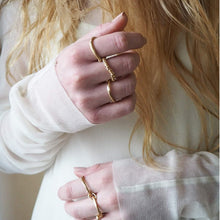 MIES NOBIS - Three Piece Zinkir Ring *20% OFF*
