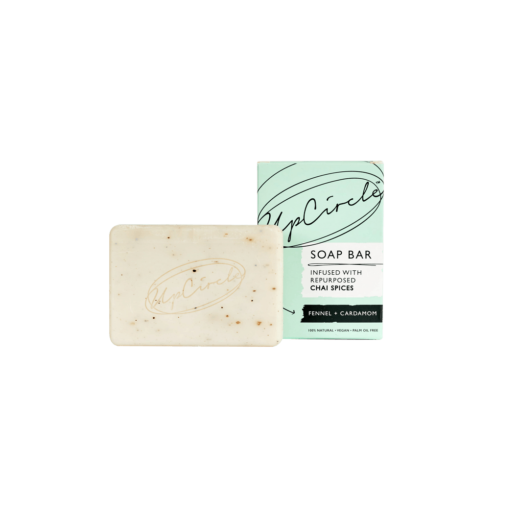 Up Circle - Fennel & Cardamom Chai  Soap Bar