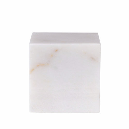 STONED - White Marble Block L