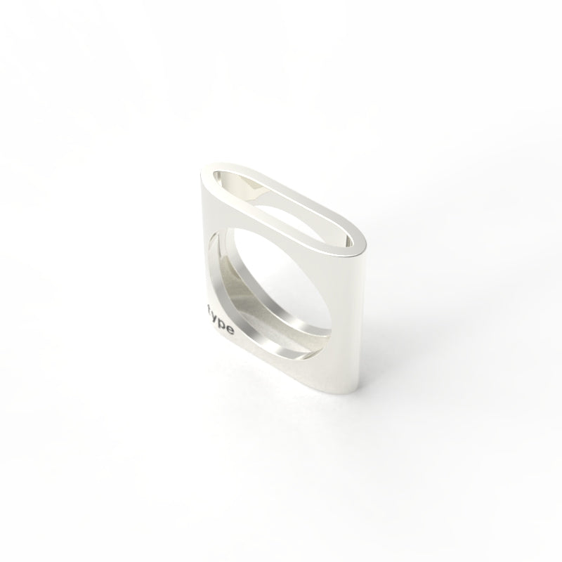 TYPE - Alphabet Ring / O