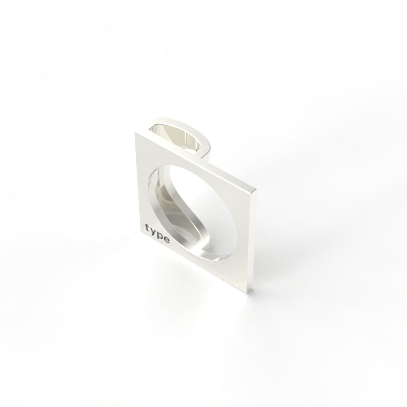 TYPE - Alphabet Ring / P