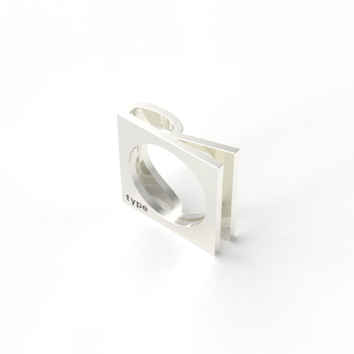 TYPE - Alphabet Ring / R