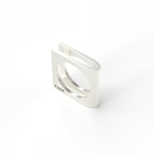TYPE - Alphabet Ring / U
