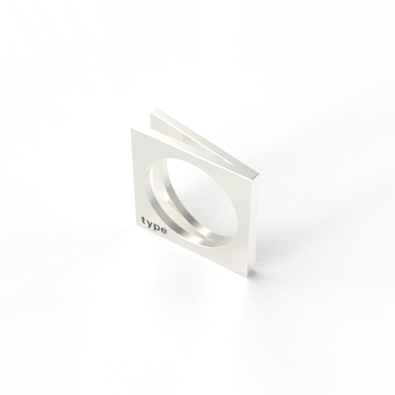 TYPE - Alphabet Ring / V