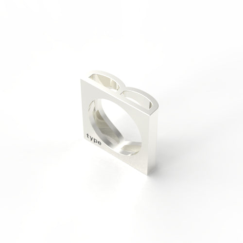 TYPE - Alphabet Ring / B