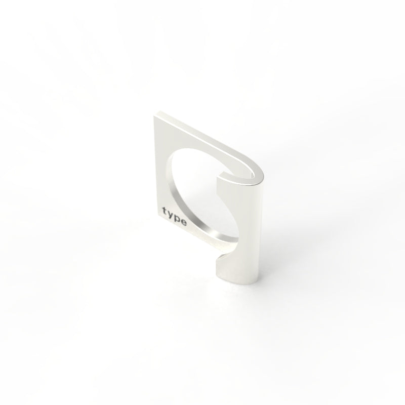 TYPE - Alphabet Ring / J