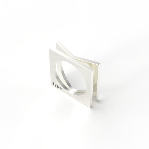 TYPE - Alphabet Ring / K
