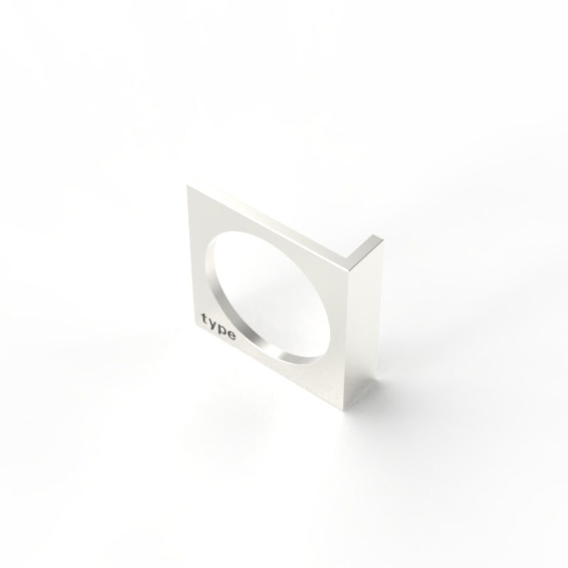 TYPE - Alphabet Ring / L