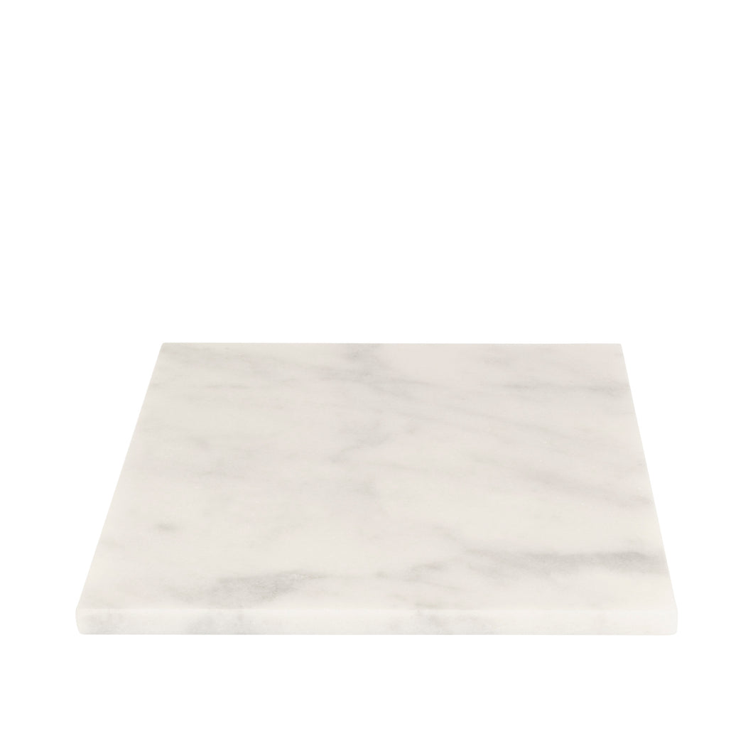 STONED - White Marble Square Board L