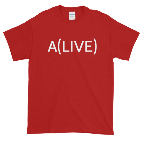 A(LIVE) Short-Sleeve T-Shirt