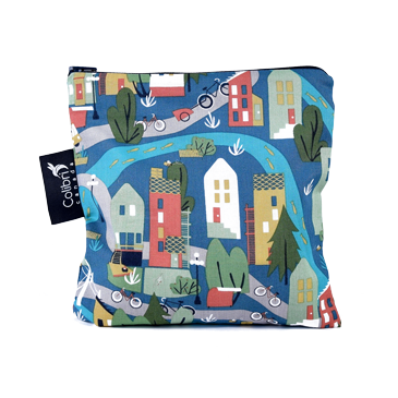 2090 - Urban Cycle - Reusable Snack Bag - Large