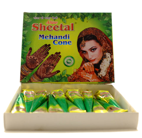 Henna Cones and Oil
