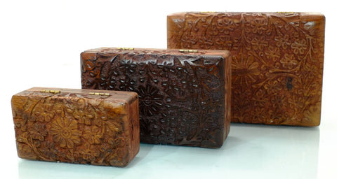 Carved Boxes