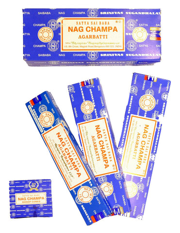 Nag Champa Incense & Oil Collection