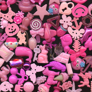 PINK color sorted trinkets (20)