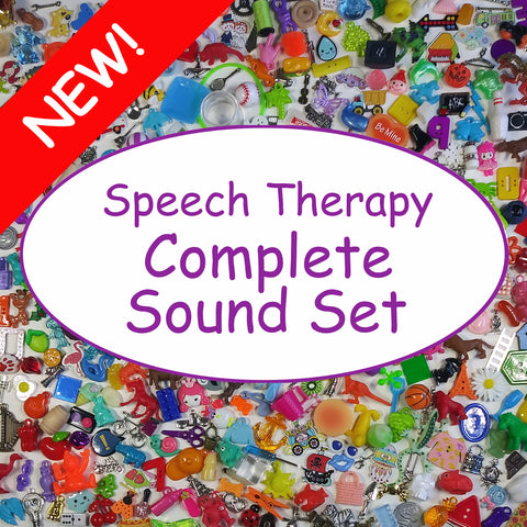 COMPLETE SET - SPEECH THERAPY TRINKETS
