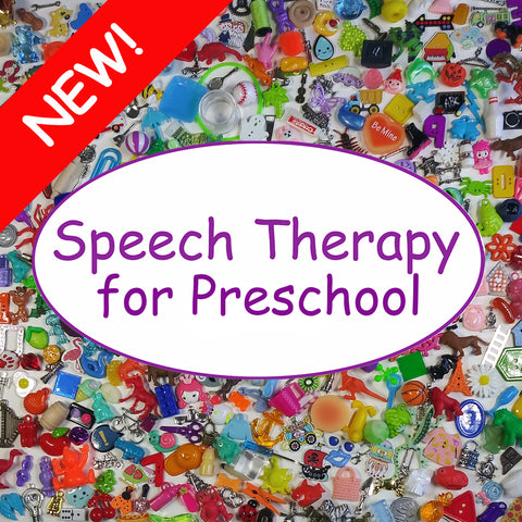 SPEECH THERAPY - Preschool - Set B
