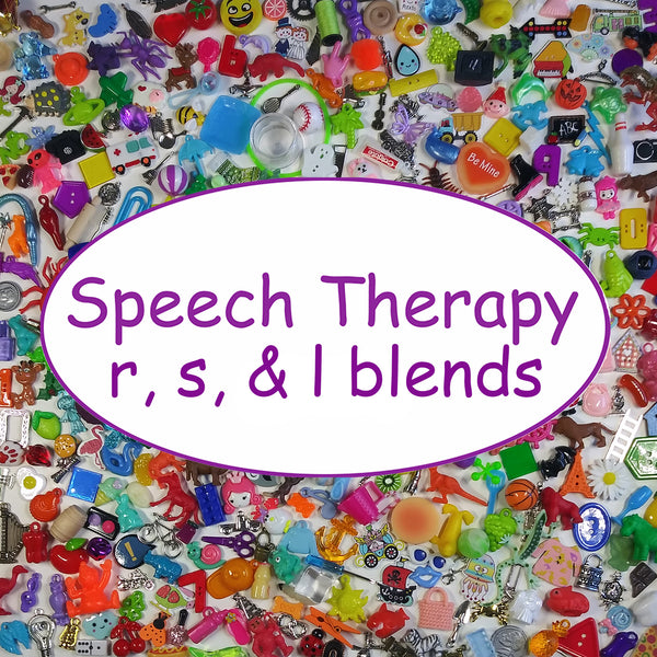 SPEECH THERAPY TRINKETS - S BLENDS