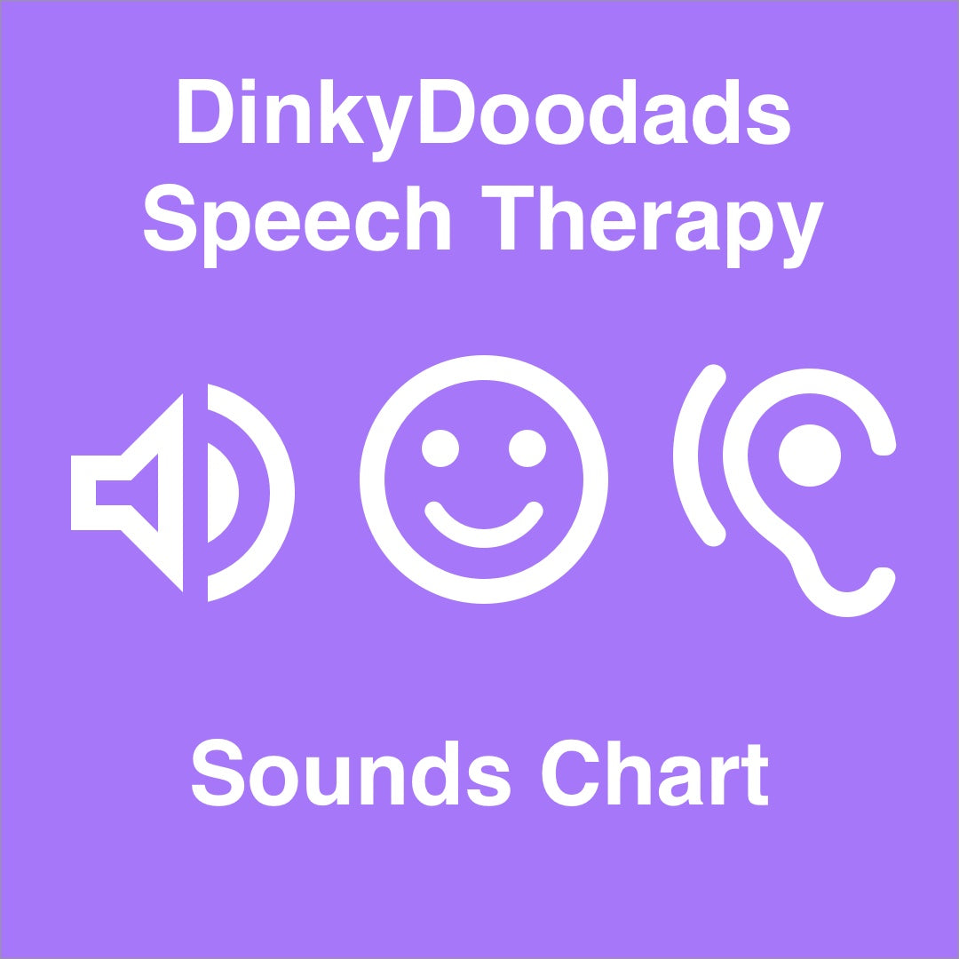 Speech Therapy Sounds Chart