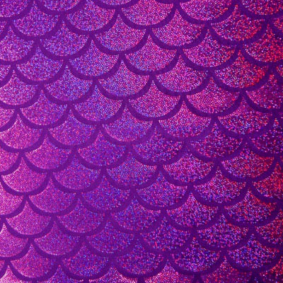 Junior/Teen Fantasy Fin Quality Swimmable Mermaid Tail (Monofin NOT Included)- Shimmer Purple