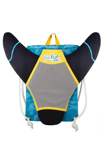 Child's New Fin Fun Swimmable Mermaid Tail with Neoprene Monofin and FREE Backpack - Aussie Green