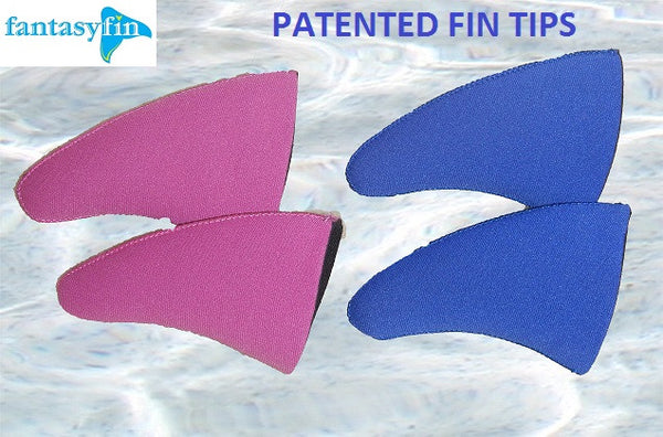 Child's Fantasy Fin #1 Safest & Best Quality Swimmable Mermaid Tail with Monofin & Free Bandeau Bikini Top - New Sparkle Purple Mermaid Scale