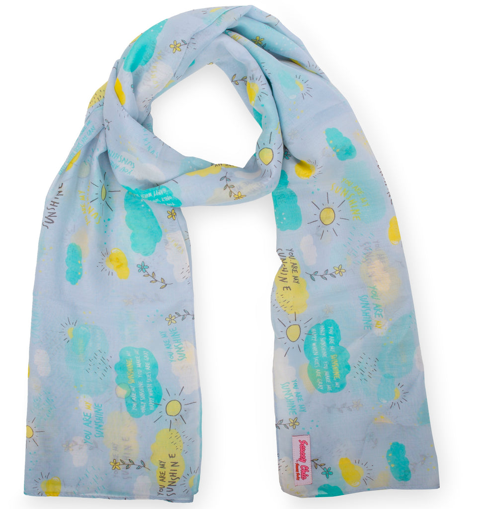 You are My Sunshine Fashion Scarf