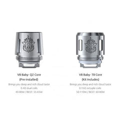 Smok TFV8 Baby Replacement Coil pack of 5 coils