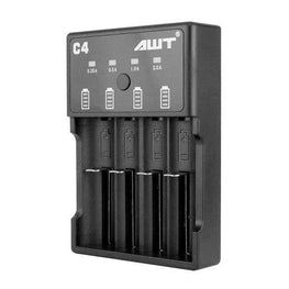 AWT C4 Charger 4 Bay Intelligent Fast Charging