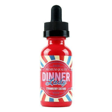 Dinner Lady Premium  - Strawberry Custard - 60ml