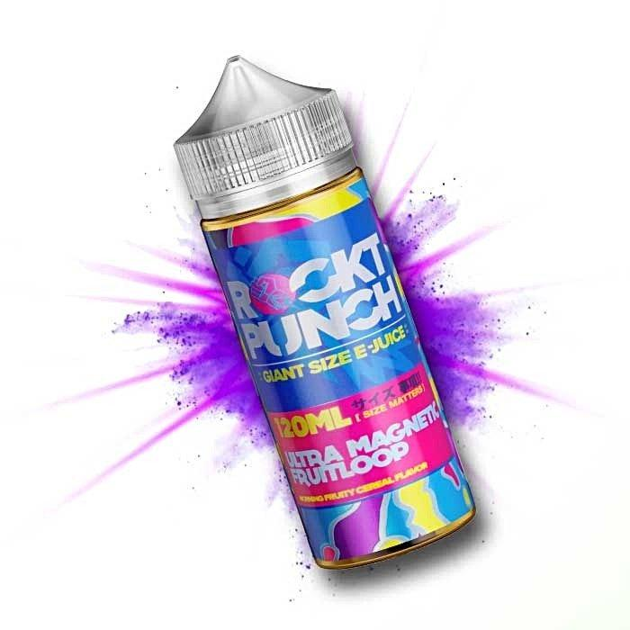Ultra Magnetic Fruit Loop Rockt Punch E-Juice in UAE. Dubai, Abu Dhabi, Sharjah, Ajman - I Vape Dubai