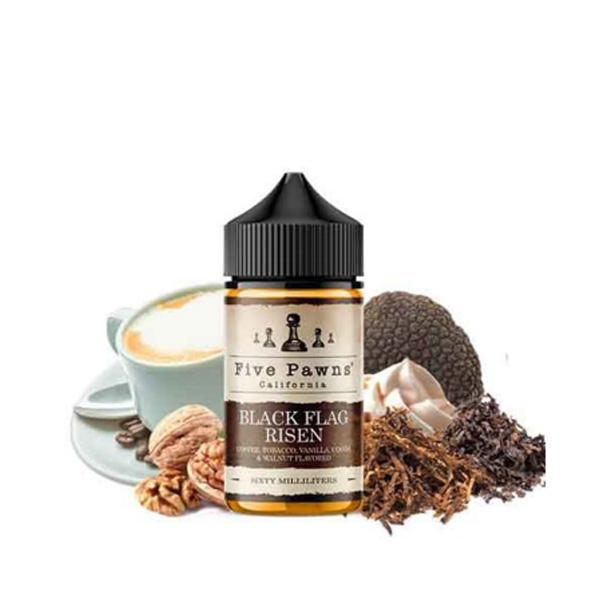Black Flag Risen Five Pawns E-Juice in UAE. Dubai, Abu Dhabi, Sharjah, Ajman - I Vape Dubai