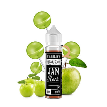 Charlie's Chalk Dust - Black & White Label - Vape eJuice - Jam Rock - 60ml - ESMA Approved