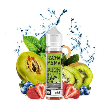 Charlie's Chalk Dust - Pachamama - Vape eJuice - The Mint Leaf Honeydew Berry Kiwi - 60ml - ESMA Approved