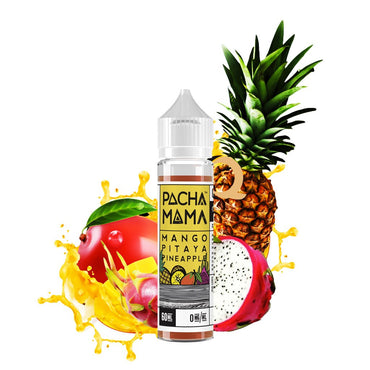 Charlie's Chalk Dust - Pachamama - Vape eJuice - Mango Pitaya Pineapple - 60ml - ESMA Approved