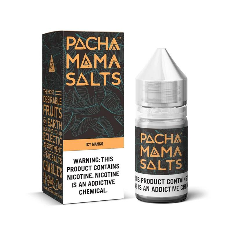 Charlie's Chalk Dust - Pachamama - NIC Salts - Icy Mango - 30ml - ESMA Approved