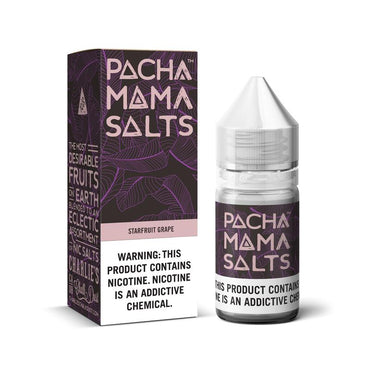 Charlie's Chalk Dust - Pachamama - NIC Salts - Starfruit Grape - 30ml - ESMA Approved
