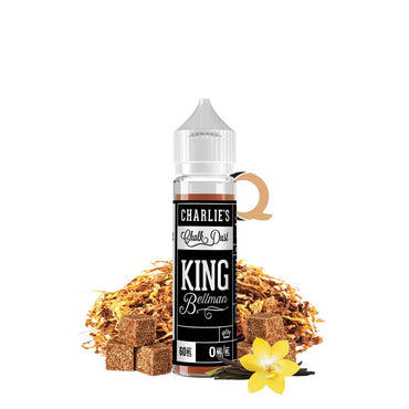 Charlie's Chalk Dust - Black & White Label - Vape eJuice - King Bellman - 60ml - ESMA Approved