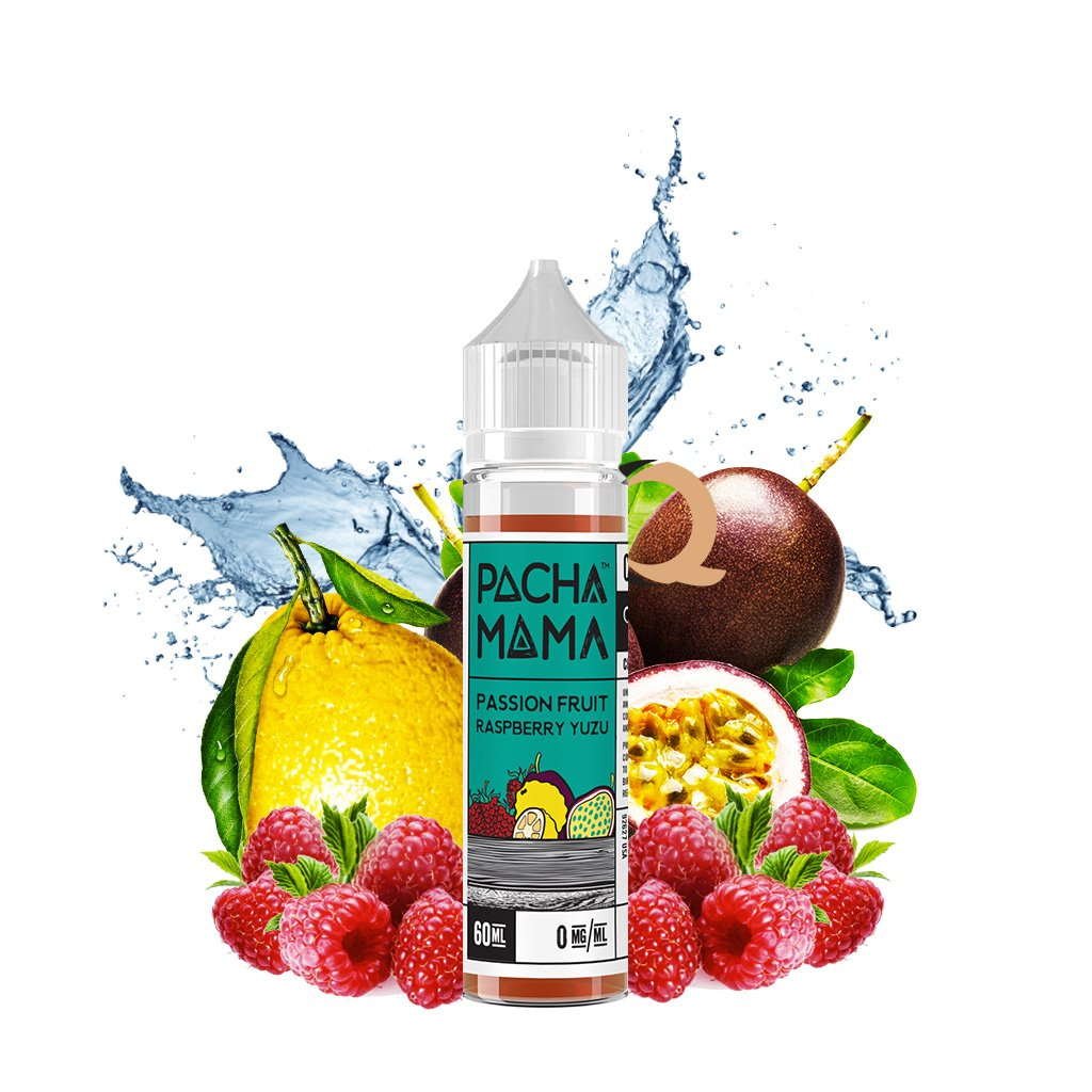 Charlie's Chalk Dust - Pachamama - Vape eJuice - Passion Fruit Raspberry Yuzu - 60ml - ESMA Approved