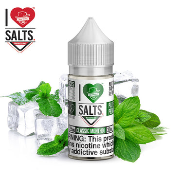 Mad Hatter - I Love Salts - NIC Salts - Classic Menthol - 30ml
