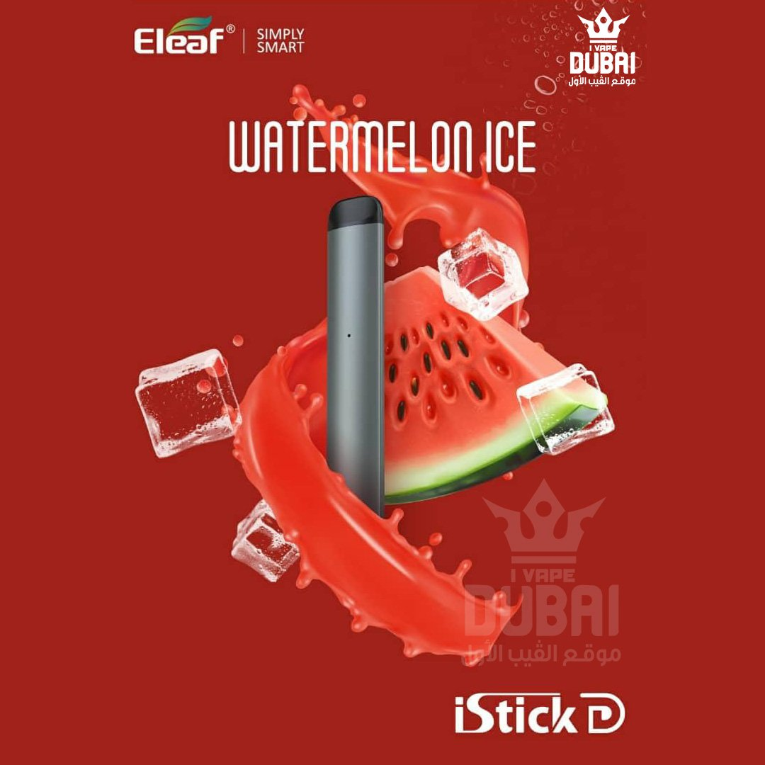 ELeaf - iStick D -  Watermelon Ice - Disposable Vape Devices
