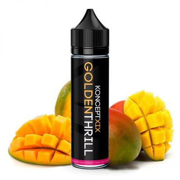 KonceptXIX -  Vape eJuice - Golden Thrill - 60ml - ESMA Approved