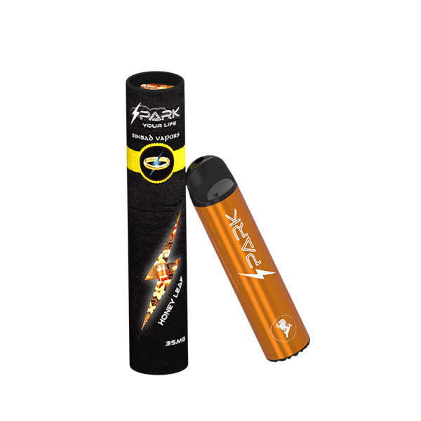Honey Leaf Spark Disposable Pod Vape in UAE. Dubai, Abu Dhabi, Sharjah, Ajman - I Vape Dubai