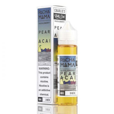Charlie's Chalk Dust - Pachamama - Vape eJuice - Huckleberry Pear Acai - 60ml - ESMA Approved