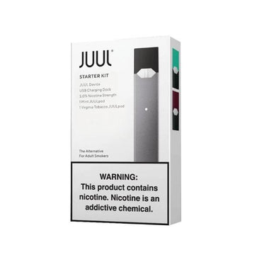 JUUL Starter Kit - Black Color with 2 Pods