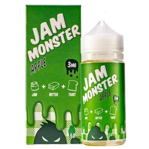 Apple Jam Monster E-Juice in UAE. Dubai, Abu Dhabi, Sharjah, Ajman - I Vape Dubai