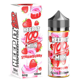 Liquid Labs - Keep It 100 E Liquid - Strawberry Milk - 100ml