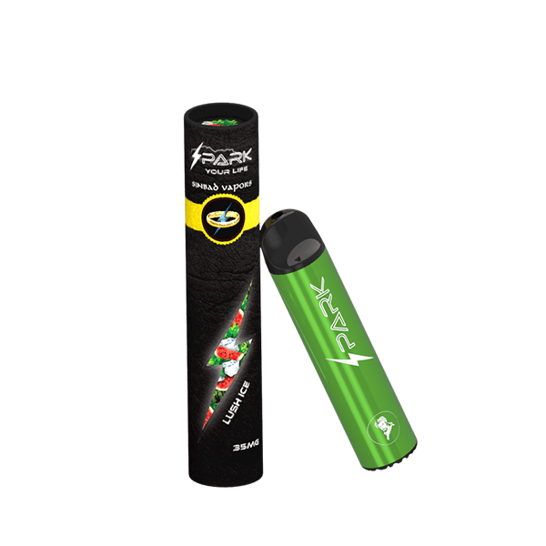 Lush Ice Spark Disposable Pod Vape in UAE. Dubai, Abu Dhabi, Sharjah, Ajman - I Vape Dubai