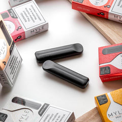 Peach MYLE Mini Disposable Pod Vape in UAE. Dubai, Abu Dhabi, Sharjah, Ajman - I Vape Dubai