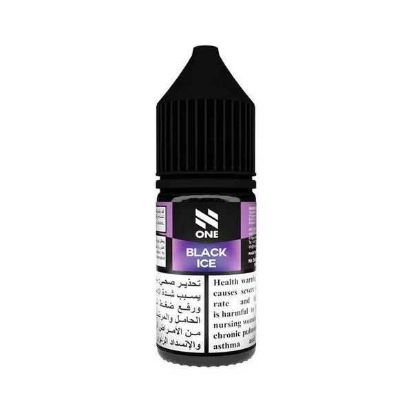 Black Ice N One Saltnic eJuice in UAE. Dubai, Abu Dhabi, Sharjah, Ajman - I Vape Dubai